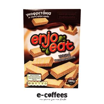 Enjoeat Γκοφρετάκια Σοκολάτας
