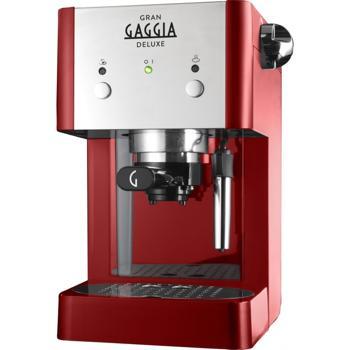 Οικιακές Μηχανές Espresso Gaggia Grangaggia Deluxe Red